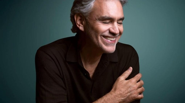 Andrea Bocelli To Give A Double Concert In Budapest Arena