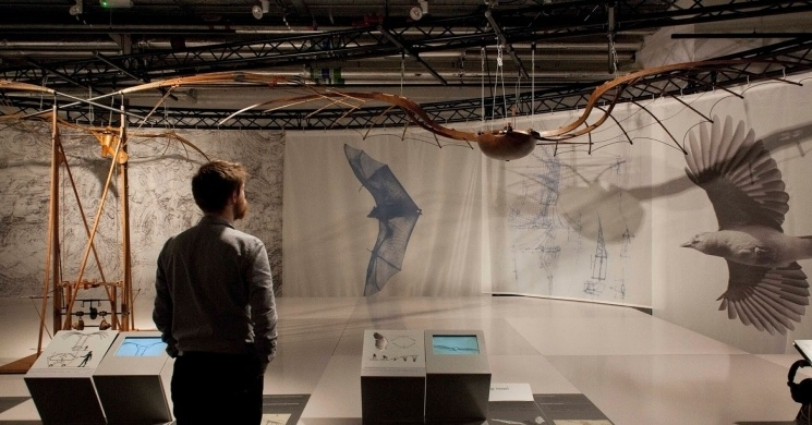 Interactive Leonardo da Vinci Exhibition In Budapest