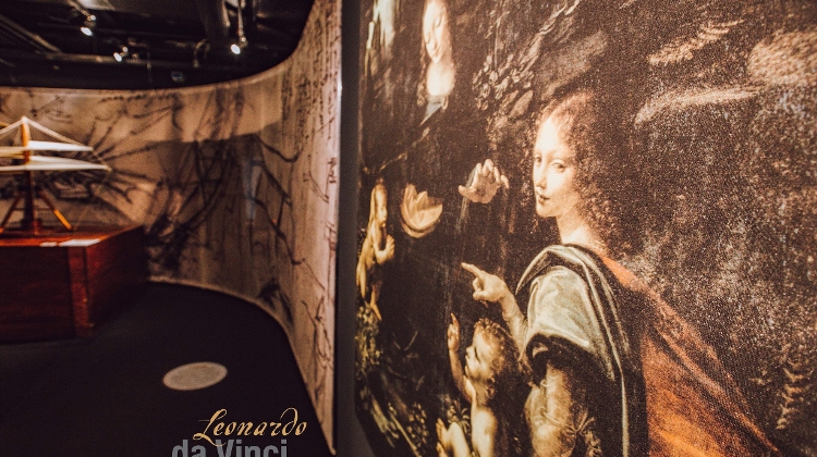 Interactive Da Vinci Exhibition Arrives In Budapest On Highly Successful World Tour