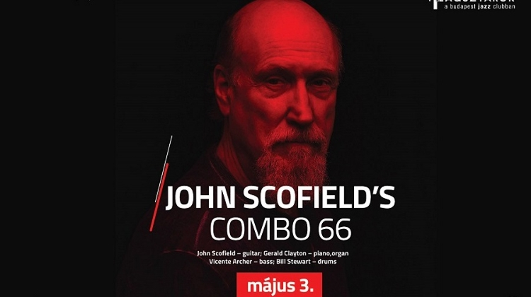 John Scofield's Combo 66, Budapest Jazz Club, 3 May