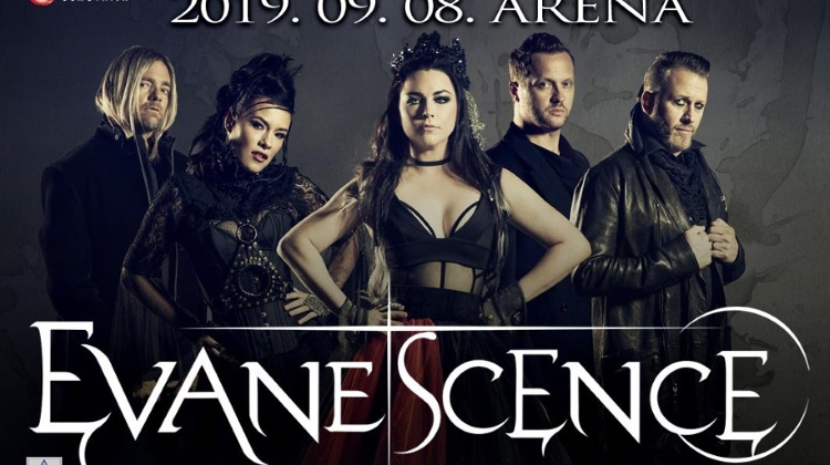 Coming Up: Evanescence Concert, Budapest Arena, 8 September
