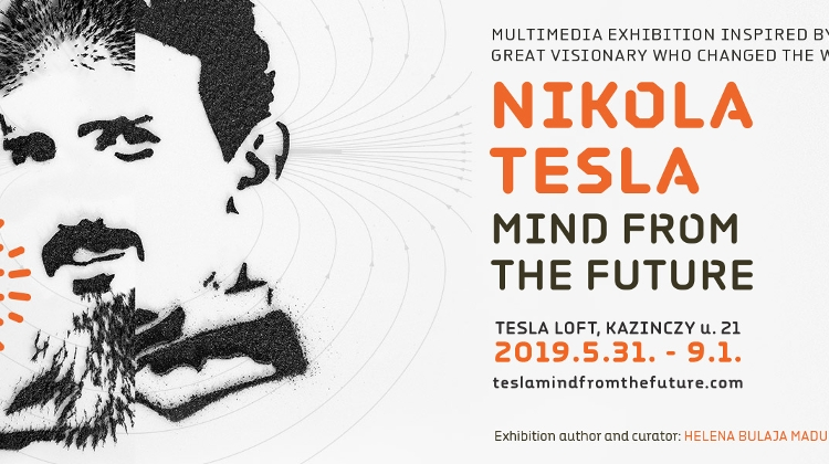 Nikola Tesla - 'Mind From The Future Exhibition' In Budapest