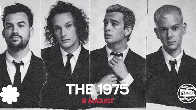 Coming Up: The 1975 @ Sziget Festival, 8 August