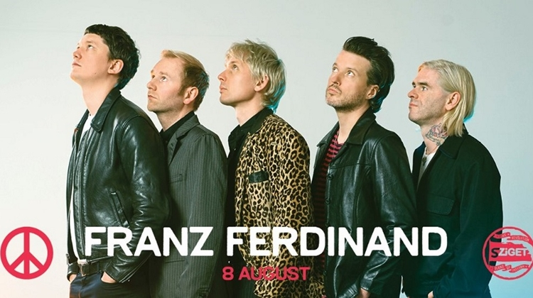 Coming Up: Franz Ferdinand @ Sziget Festival, 8 August