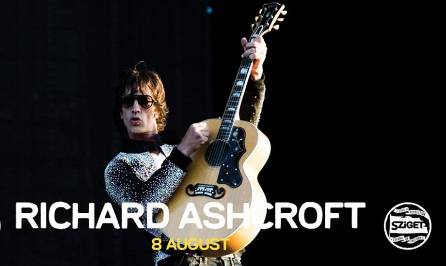 Richard Ashcroft @ Sziget Festival, 8 August