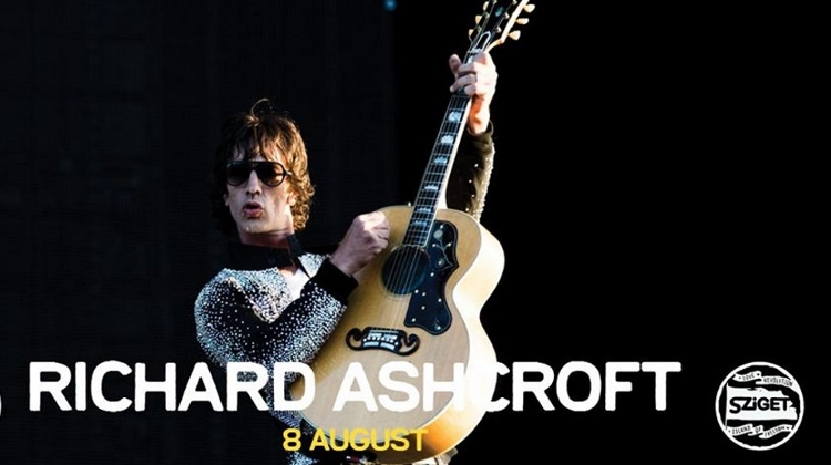 Coming Up: Richard Ashcroft @ Sziget Festival, 8 August