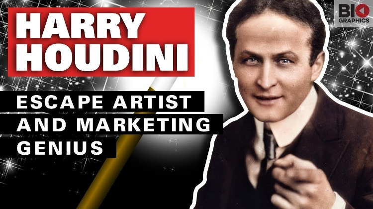 Hungarian Hero Video: Harry Houdini – Escape Artist and Marketing Genius