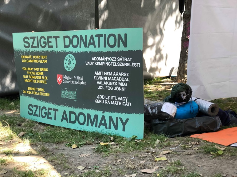 Charity Gets Equipment, Clothing Left By Sziget Festival-Goers