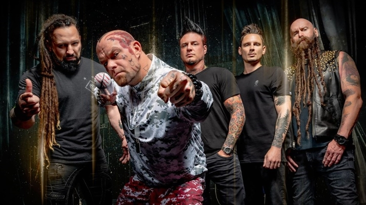 'Five Finger Death Punch' Concert @ Budapest Arena, 20 February