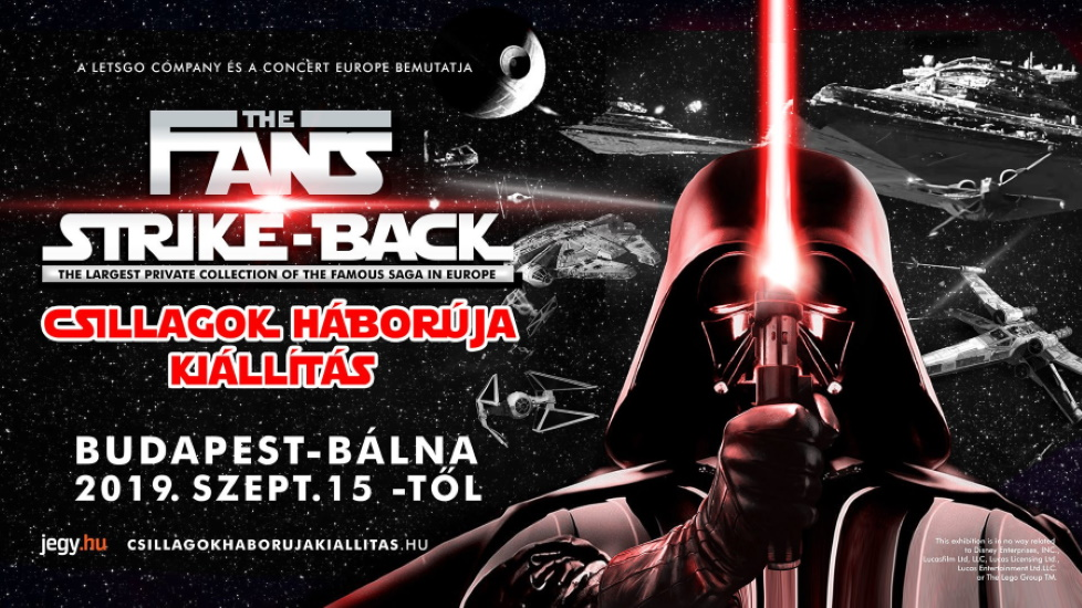'Fans Stike Back': Star Wars Exhibition @ Budapest Whale