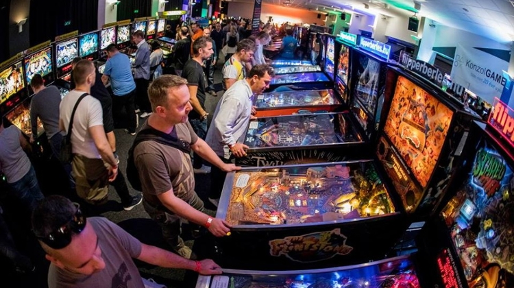 Central Europe's Biggest Arcade Game Show In Budapest, 1 – 3 November