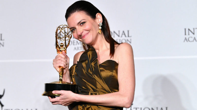 Video: Hungarian Actress Wins International Emmy