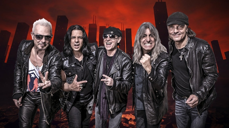 Scorpions Concert @ Budapest Arena, 18 November
