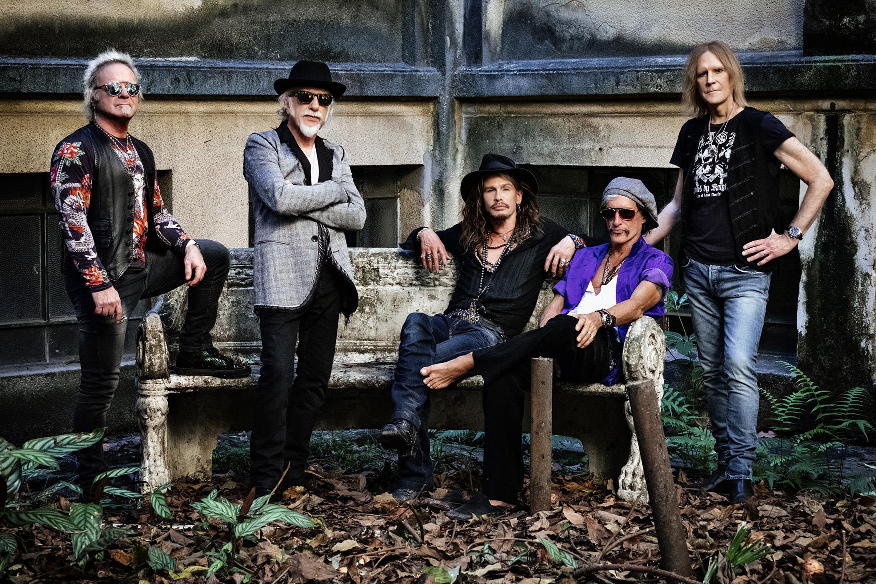 Aerosmith To Perform At Puskás Arena, 12 July, 2021
