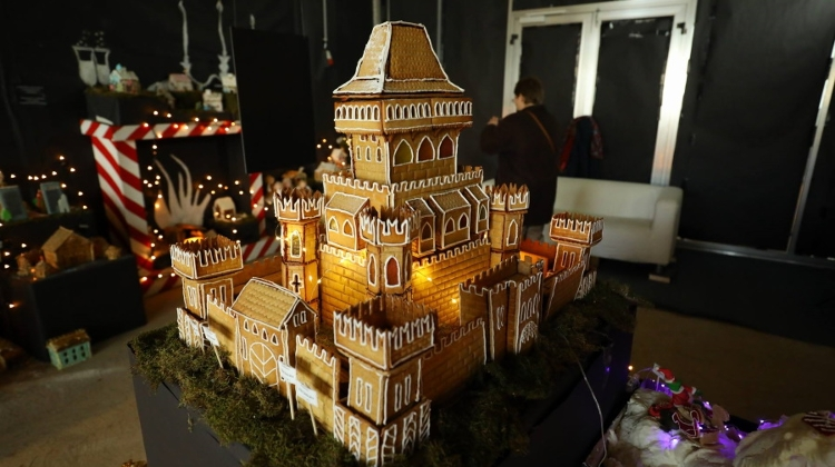 Video: Gingerbread City @ Bálna Budapest