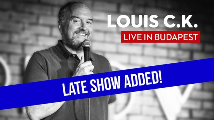 Louis C.K. Live Show @ Budapest Congress Center, 3 December