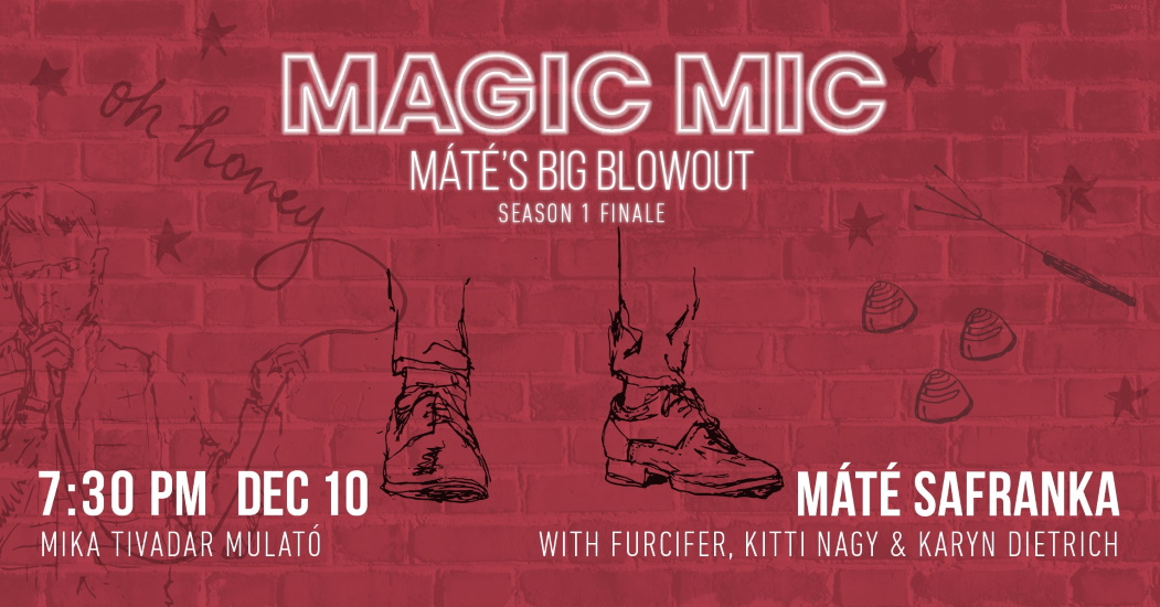 'Magic Mic' Stand Up Comedy Show In Budapest, 10 December