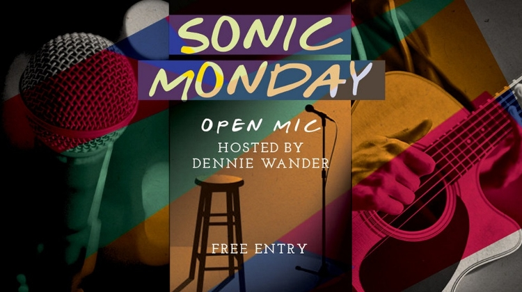Sonic Monday: Open Mic With Dennie Wander