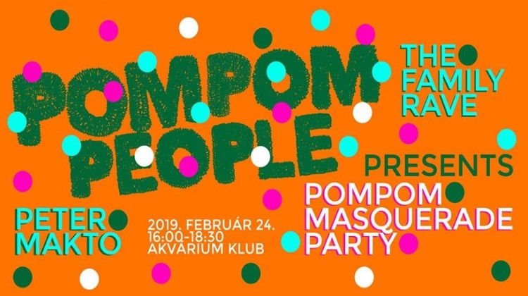 PomPom Masquerade Party: Family Rave