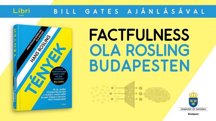 Lecture & Book Launch Of 'Factfulness' By Ola Rosling @ Corvinus Uni, 15 April