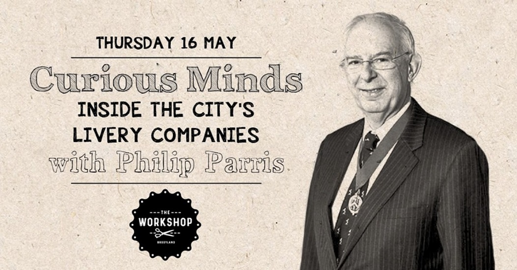 Curious Minds With Philip Parris, The Workshop, 16 May