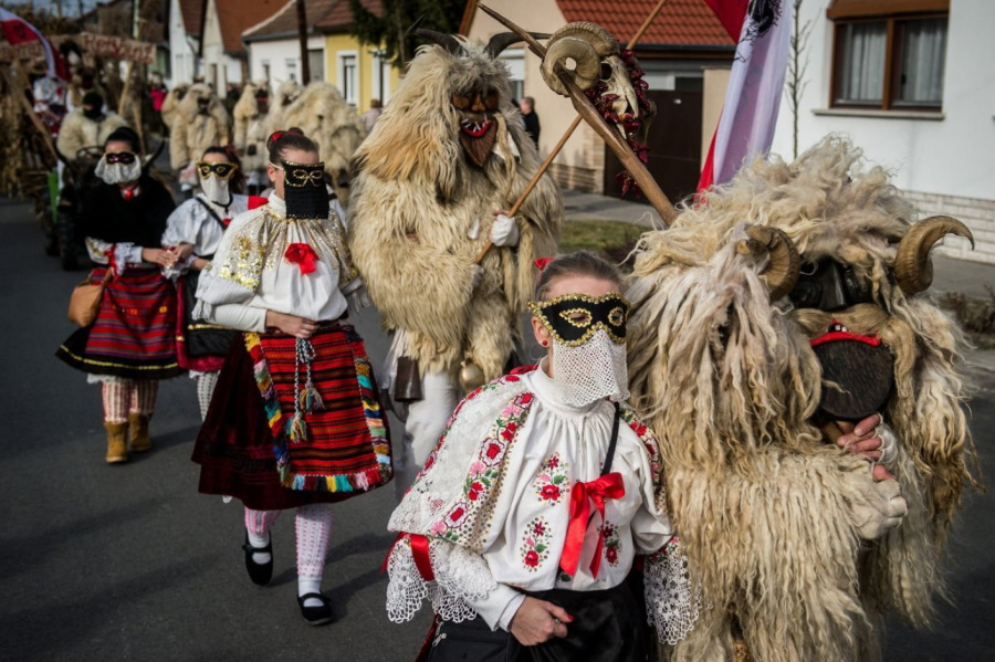 Video: 'Buso Carnival' In Mohács, 20 – 25 February