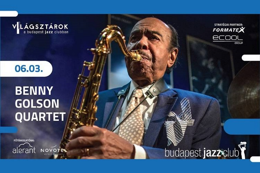 World Stars @ Budapest Jazz Club: Benny Golson Quartet