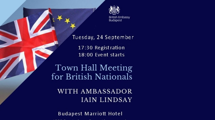 Town Hall Meeting For British Nationals @ Marriott Hotel Budapest, 24 September
