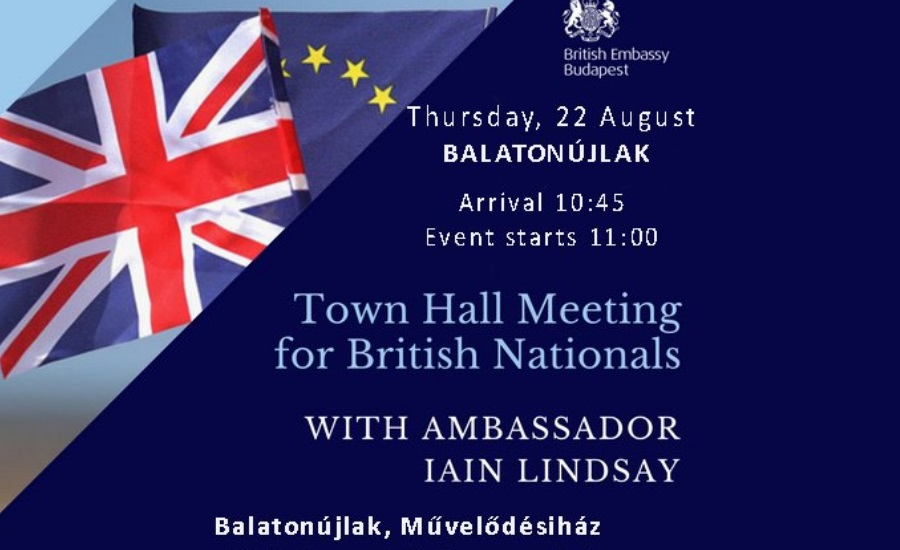 Town Hall Meeting For UK Nationals In Balatonújlak
