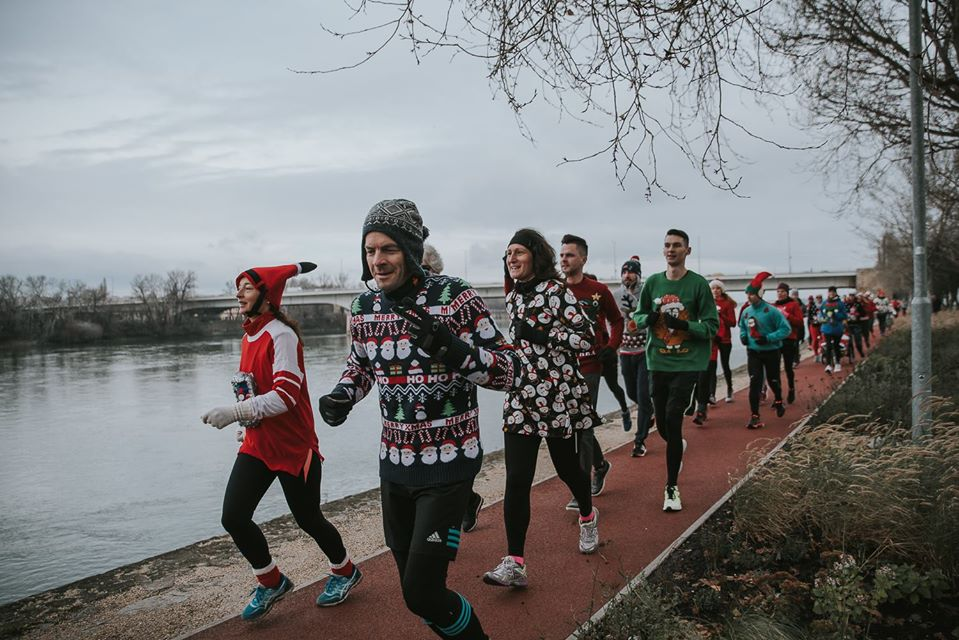 Ugly Sweater Run Around Margaret Island