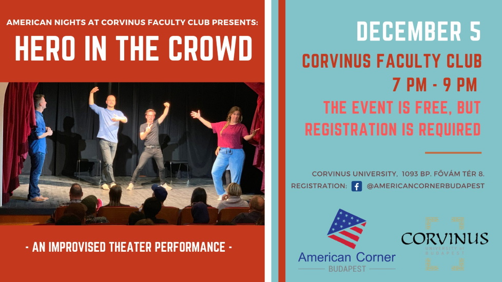 Hero In The Crowd – An Improvised Theater Performance In English