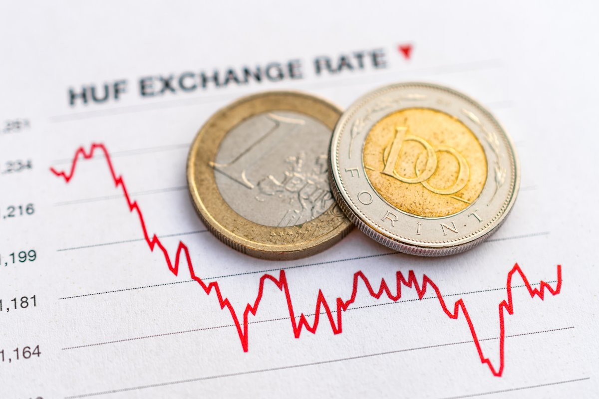 Forint Hits New Low Against Euro, Down Versus Dollar