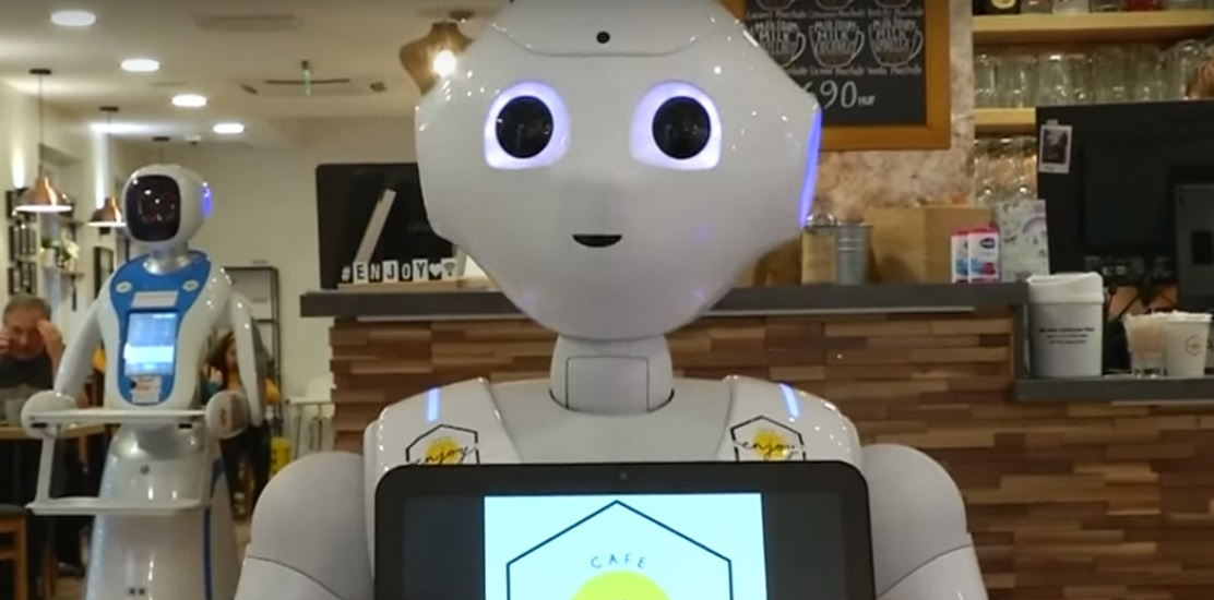 Video: Robots Serve Up Food & Fun @ Enjoy Budapest Cafe