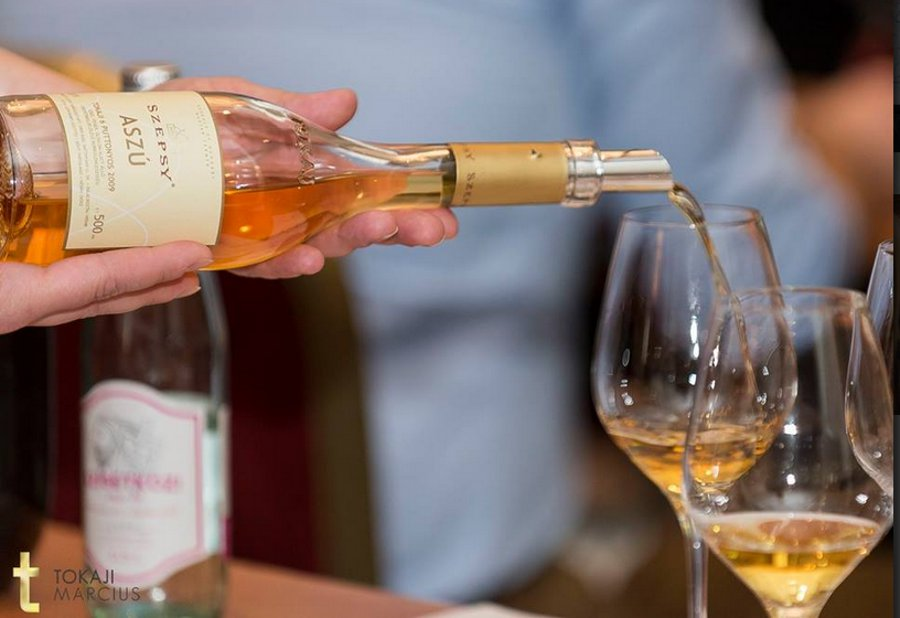 Tokaji Great Tasting, Corinthia Hotel Budapest, 23 March