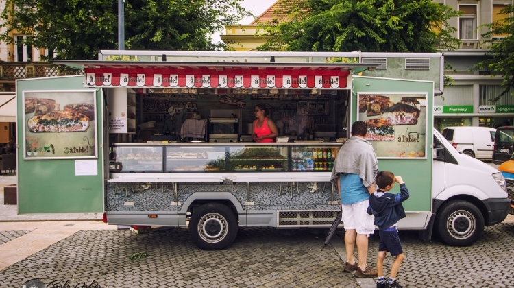 9th Food Truck Show In Budapest, 3 – 5 May