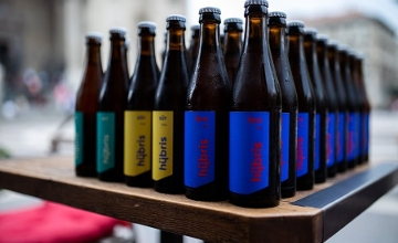 Hungarian Microbrewery Hübris Launches Minimalist 'Craft Beers Without Craft'