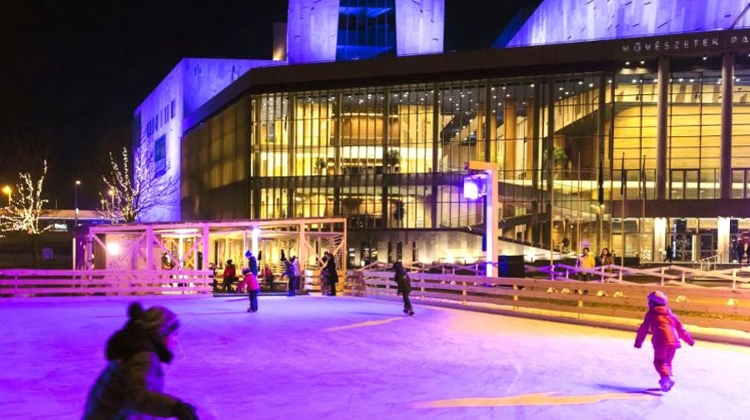 Ice Rink At Budapest Palace Of Arts Open Until 29 January