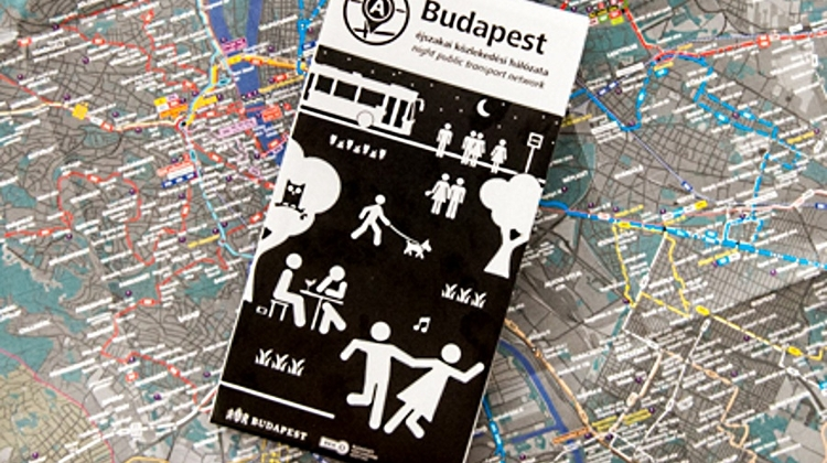 New Free Budapest Night Transport Map Available