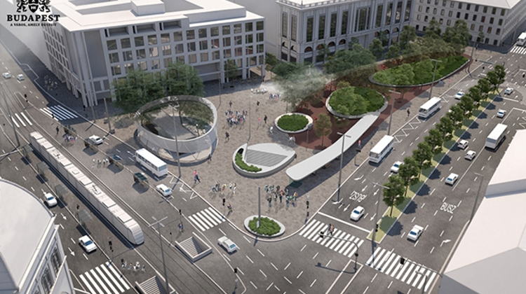 Budapest's Blaha Lujza Square To Be Modernized This Autumn