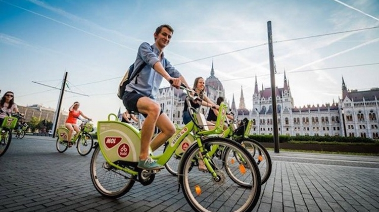 Record Number Register To Use Bubi Bike Sharing System In Budapest