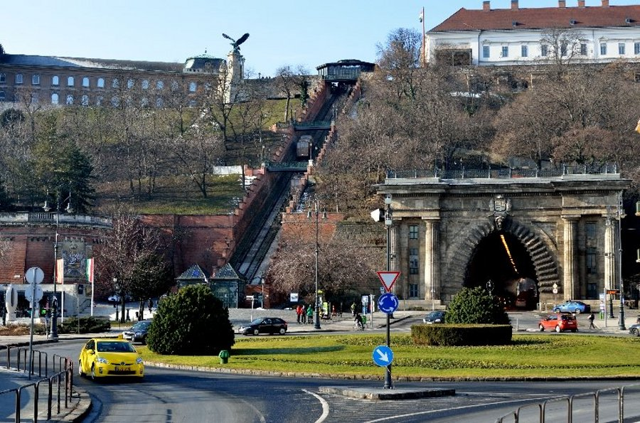Budapest Castle Funicular Out Of Service, 8 –12 April