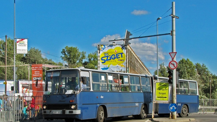 Budapest's Public Transport Services During 2019's Sziget Festival