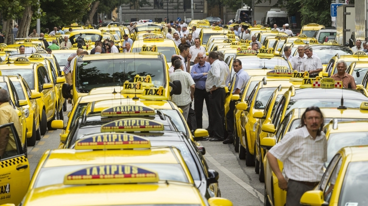 Taxi Drivers In Hungary Plan Protest Against Bolt