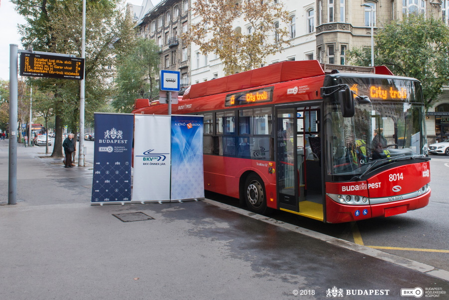 New Trolleybuses To Enter Service In Budapest