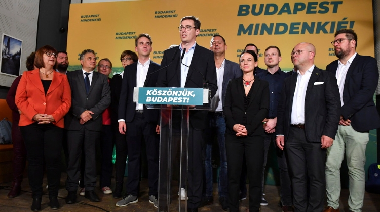 Video: Karácsony Hails 'Historic Victory' In Budapest