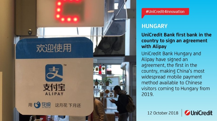 China's AliPay Starts In Hungary In May