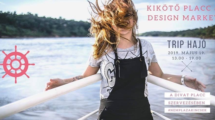 Kikötő Placc & Design Market In Budapest, 19 May