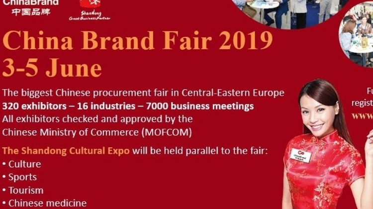 China Brand Fair Opens Doors In Budapest