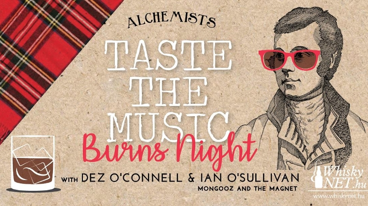 Alchemists - Taste The Music: Burns Night, The Studios Budapest, 24 January