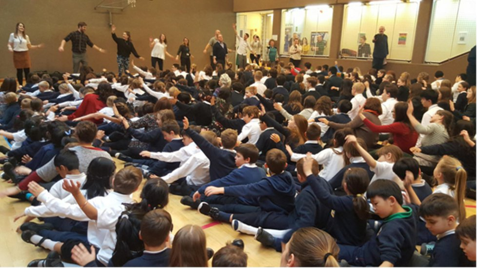 World Record Attempt @ Britannica International School, Budapest